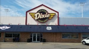 The Dixie Restaurant In Illinois Is An Unsuspecting Truck Stop Where You Can Pull Over And Have A Meal