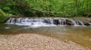 Your Kids Will Love This Easy 1-Mile Waterfall Hike Right Here In Indiana