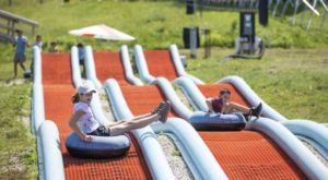 Enjoy Some Of The Best Downhill Summer Tubing In Vermont At Killington's Resort