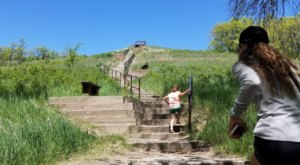 Hike This Stairway To Nowhere In North Dakota For A Magical Woodland Adventure