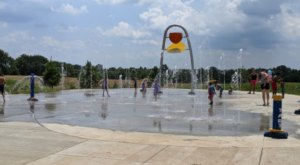 Visit The Largest Splash Pads In Kentucky For A Day Of Pure Fun