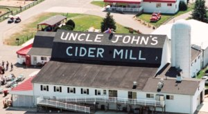 The Cider Slushies From This Charming Michigan Mill Are Ridiculously Refreshing