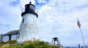 Climb To The Top Of This Little Known Lighthouse In Maine For A Fun Family Outing