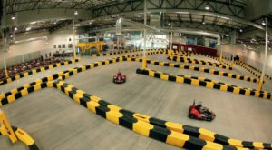 Cruise 45 MPH On These Indoor Go-Karts In Southern California That Are One Wild Ride