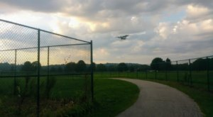 This Cincinnati Airport Was Once The Largest In The Country And Even Has Its Own Bike Trail