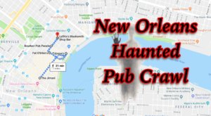 Take This Haunted Pub Crawl In New Orleans For A Truly Spooky Night