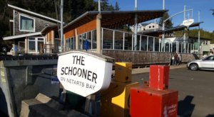 Fresh Seafood And Views Of The Bay Are The Catch Of The Day At Schooner Restaurant In Oregon