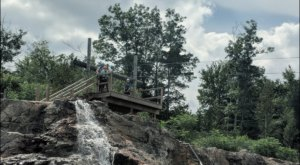 The One Park In New Hampshire With Water Activities, An Adventure Course, and Ziplining Truly Has It All
