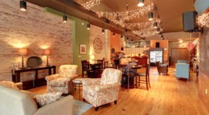 You'll Feel Right At Home When You Visit The Living Room Cafe In Michigan