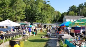Montsweag Flea Market  Is A Charming And Out Of The Way Maine Destination
