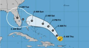 Hurricane Dorian Is Slated To Approach The Florida Coast On Friday With 100 MPH Winds And Rain