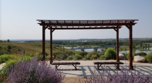 Enjoy Bridges, A River, And Beautiful Views At Chief Looking's Village Park In North Dakota