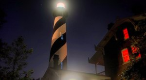 Take The Haunted St. Augustine Lighthouse Tour In Florida For A Spooky Good Time