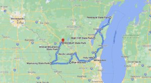 Take This Gorgeous Fall Foliage Road Trip To See Wisconsin Like Never Before