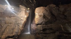 The Rare Underground Waterfall In New York You'll Have To See To Believe
