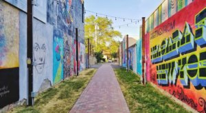 The Art Alley Near Buffalo Is A Unique Place To Visit