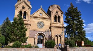 St. Francis Cathedral In New Mexico Is A True Work Of Art