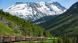 All Aboard The Train That Takes You To Go Hiking In The Alaskan Wilderness