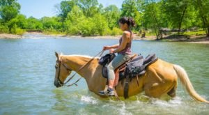 Climb Mountains And Cross Creeks On This Authentic Western Horseback Ride In Oklahoma