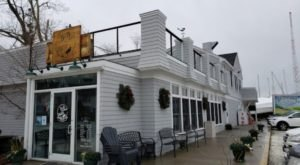 The Burgers At This Rhode Island Riverfront Restaurant Are So Worth The Drive To The Shore
