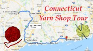 This Yarn Shop Tour Takes You To 6 Amazing Stores In Connecticut In One Day