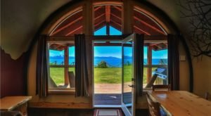 You'll Want To Stay In This Underground Cabin In Alaska With Stunning Views Of Kachemak Bay