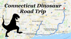 This Dinosaur-Themed Road Trip In Connecticut Will Take You Back To Prehistoric Times