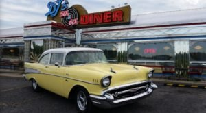 Revisit The Glory Days At DJ's 50's & 60's Diner In West Virginia