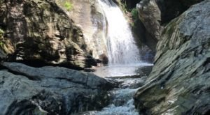 Hike Straight To The Beautiful Bingham Falls In Vermont Along The Bingham Falls Trail