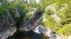 The Hike To This Pretty Little Vermont Waterfall Is Short And Sweet