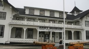 The Old Washington Military Museum With A Truly Haunted Past