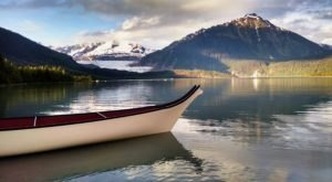 Canoe To The Bottom Of This Tidewater Glacier On This One-Of-A-Kind Alaska Adventure