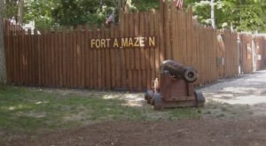 Most People Don't Know There's A Fort Maze In Ohio And It's Insanely Fun