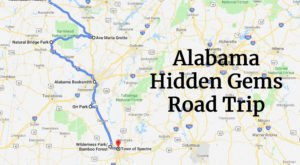 This Road Trip Will Take You To 7 Of Alabama's Most Spectacular Hidden Gems