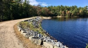 Tower Hill Pond Loop Trail, A 3.5 Mile Hike In New Hampshire, Takes You Around A Beautiful Lake