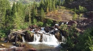 Red Rock Falls Trail Is A Beginner-Friendly Waterfall Trail In Montana That's Great For A Family Hike