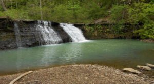 You'll Probably Have This Secluded Waterfall And Swimming Hole To Yourself In Arkansas