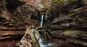 Balanced Rock Falls Trail In Arkansas Will Lead You To A Unique Rock Formation