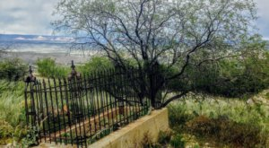 The Old Miners Cemetery Is One Of Arizona's Spookiest Cemeteries