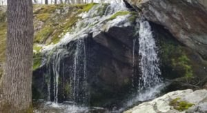 The Hike To This Pretty Little Rhode Island Waterfall Is Short And Sweet