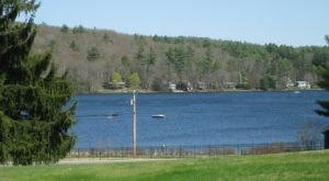Lake Wyola Is A Beautifully Clear Lake In Massachusetts