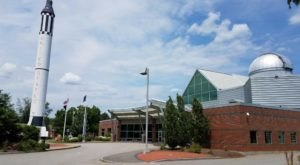 The Sky's The Limit At McAuliffe-Shepard Discovery Center In New Hampshire