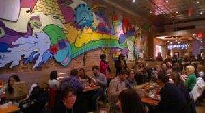 The Psychedelic Pizza Parlor In Virginia That Makes Dining Out Downright Fun