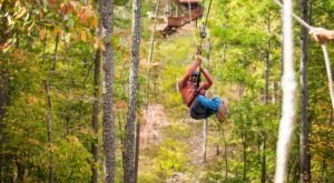 Zip Line At Rugaru Adventures In Broken Bow For A Fun, Oklahoma Adventure