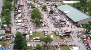 You Could Easily Spend All Weekend At This Enormous Flea Market Near Buffalo