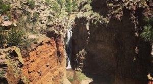 Upper Falls Trail Is A Beginner-Friendly Waterfall Trail In New Mexico That's Great For A Family Hike