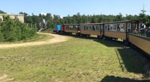 Enjoy A Short Open Air Train Ride Adventure At Edaville's Excursion Train In Massachusetts
