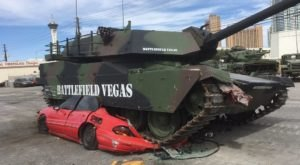 You Can Crush Cars While Driving A Tank At This One-Of-A-Kind Attraction In Nevada