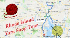 This Yarn Shop Tour Takes You To 6 Amazing Stores In Rhode Island In One Day