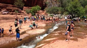 The Natural Waterpark In Arizona That's The Perfect Place To Spend A Summer's Day